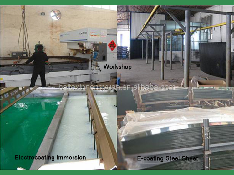workshop and E-coating anti-corrosion