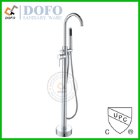 02017 HQ Brass free standing Bathtub faucet stand up cUPC faucet bath