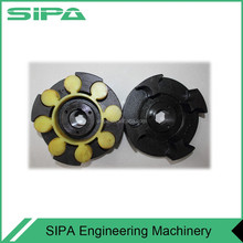 Coupling with rubber for construction hoist /lifter/elevator spare parts