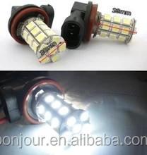 auto fog lamp t20 canbus 27smd 5050 h8 h11 led fog light
