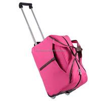 Fashion cheap travel time trolley bag