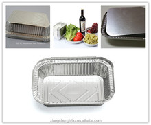 decorative disposable aluminium foil food containers