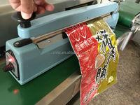 Hongzhan 4' 8' 12' 16' 20' aluminum/iron/plastic body portable manul plastic bag sealing hand impulse heat sealer