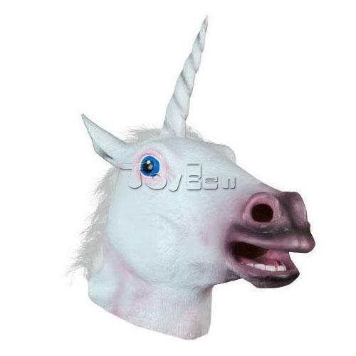 Unicorn Full Head Horse Mask for Masquerade Party Halloween Mask Cosplay Mask