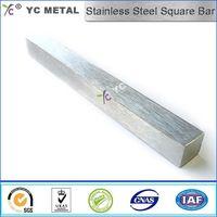 ASTM A276 Stainless Steel Bar AISI304L Mirror Polish square Bar -YC Metal