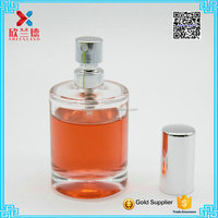 30ml cylinder empty bottle perfume with perfume cap