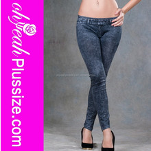2015 Latest deep color sow slim pictures of jeans pants pictures sexy jeans women
