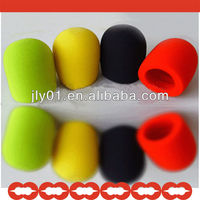 Factory Price !!!Microphone Cap with Red black bule color