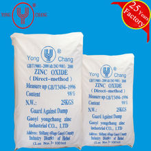 Zinc Oxide 98% ,manufacture,direct process