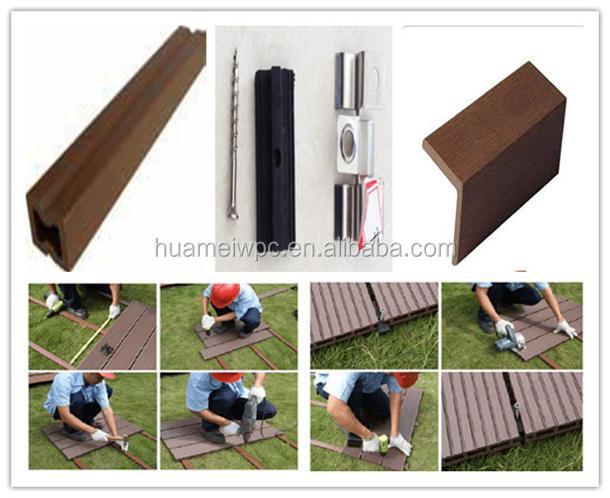 Outdoor Veneer WPC Decking Board