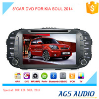 touch screen car dvd gps navigation system with radio/mp3/gps for KIA SOUL 2014
