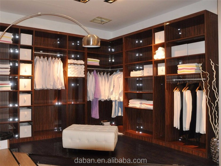 Bedroom Closet Sliding Glass Wood Wardrobe Cabinets With Closet Doors