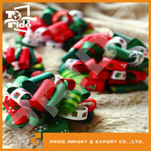 PR-WR141 Printed christmas ribbon with more patterns mixed