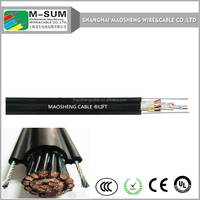 electric textile cord metal ev charger cable VDE0295,class5 flexible drum-reeling