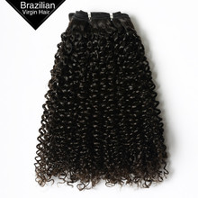 VV Quality 100% 8A Grade Jerry Curl Virgin Brazilian Remy Hair Weaves Human Hair Extensions