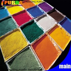 Free Samples Epoxy Polyester Thermosetting Powder Paint
