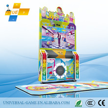 Latest!! 2015 Cute Baby Popular Coin Operated Dancing Video Game Machine for Children