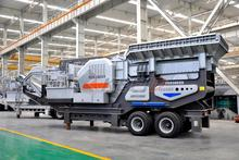 Portable Diesel mobile Type and Construction waste crushing equipment