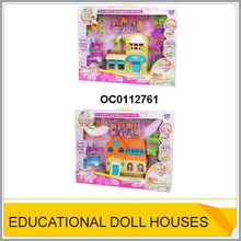 Plastic doll house doll furniture for kids OC0112761