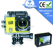 2015 Hot New Product Full HD 1080P Underwater Waterproof 30m Diving Sport Action Camera