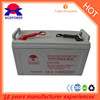 Super long life Solar storage 12v 120ah AGM battery pack for solar system