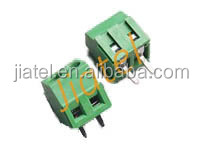 3.5/3.81mm 2pin wire cage type pcb terminal block Connector