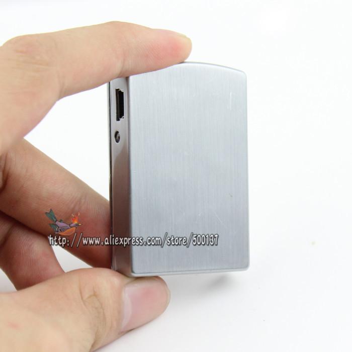 ถูก กล่องของขวัญ+แฟชั่นรูปแบบดอลลาร์W/LEDอิเล็กทรอนิกส์W Indproof Flamelessแบบชาร์จไฟUSBซิการ์บุหรี่ไฟแช็ก