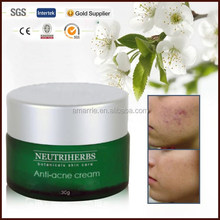 Best face anti acne whitening anti acne pimples removal acne cream