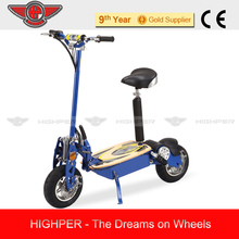 2014 NEW 1300W 48V Brushless 2 Wheel 12'' tire Electric Scooter with Seat HP107E-C