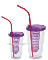 cheap hot sale personalized kids plastic bar straw cups