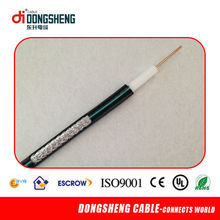 De calidad europea rg6 triple cable coaxial, cable coaxial rg6 triple