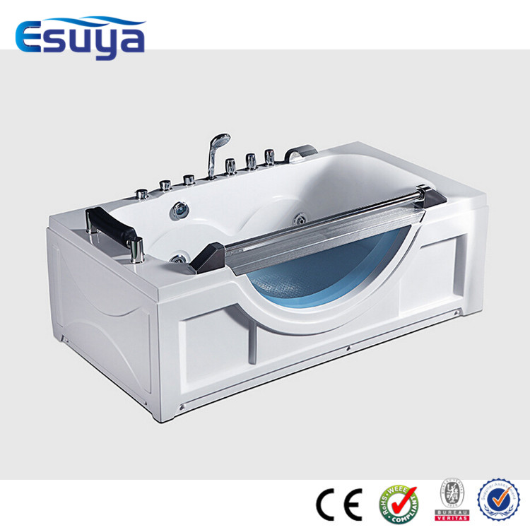 Fancy bathtub with high quality acrylic water jets cover for Best acrylic bathtub to buy