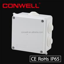 100 x 100 x 70 mm CE se acercó ABS caja eléctrica impermeable de plástico