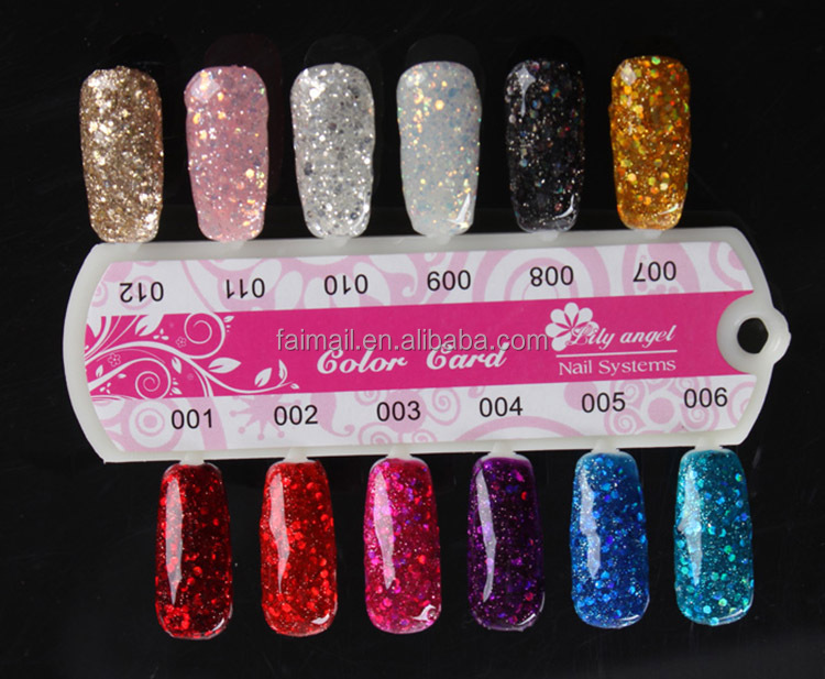 Pro Acrylic Liquid Nail Art Tips Brush Glue Glitter Powder Uv Gel ...