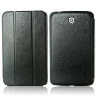 Retro 3-folding Leather Flip Cover Case for Samsung Galaxy Tab 3 7.0