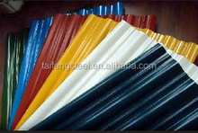 color coated steel tile / building material /roofing sheet price