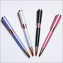 Jiangxin Fashion customized metal twist ball pen slim for women