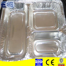 Container Type and Food Use Aluminum Foil Disposable Hot Dog Trays