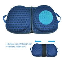 Aqua Memory Foam Material 2 in 1 Portable Gel Seat Cushion
