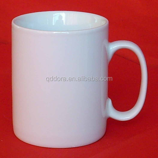 White Ceramic Mugs Bulk Cheap Plain White Coffee Mug White