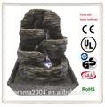 Fuente de resina artificial de interior cascadas