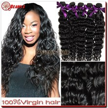 Beamys raw unprocessed brazilian hair, hot selling virgin human brazilian knot hair extension