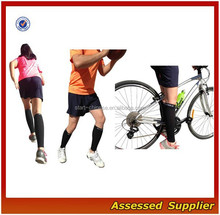 BeVisible Black Women and Men's Leg Compression Sleeves/Calf Guard Shin Splints Sleeves For Running