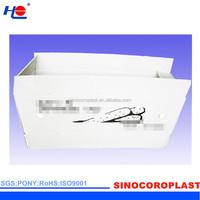 corona treated and anti-uv plastic pp greenhouse crate