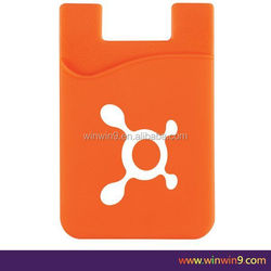 Silicone Phone Pouch, silicone smart wallet, card holder