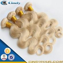 quality high natural wavy blonde color mink brazilian hair 7a virgin supreme brazilian hair weave