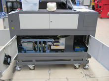 popular 20mm acrylic laser cutter machine LC1490 Yongli or Reci 130-150W