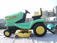 Hongwan products factory price green car inflatable model for advertising