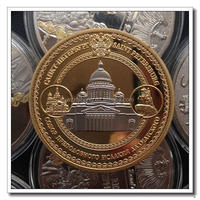 high quality metal novelty coin with engraving blanks