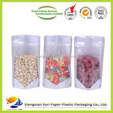 laminating stand up plastic pouch bag